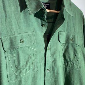 NEW True Religion Men's Utility Shirt